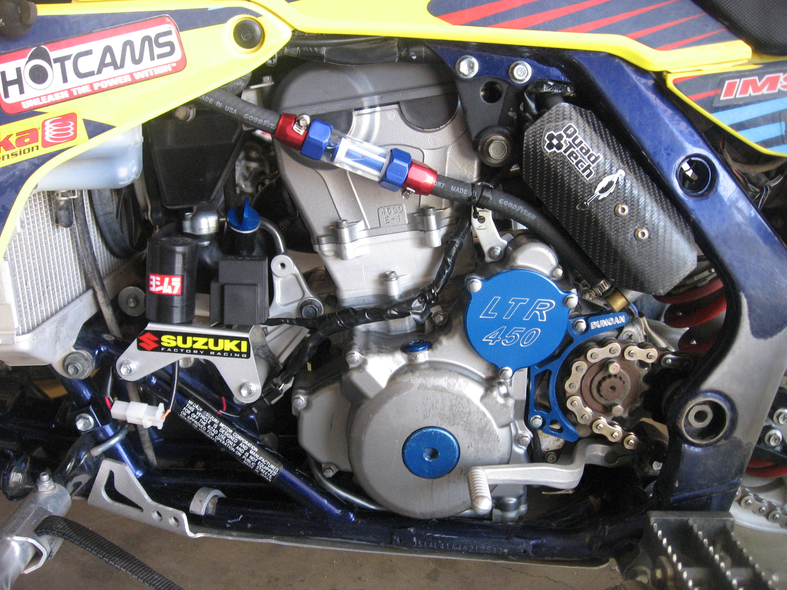 Aftermarket Fuel Filter Suzuki Lt R450 Forum Engine Filters Click Image For Larger Version Name Img 0072 Views 3051 Size 155