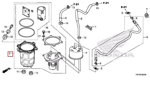 honda fuel pump question suzuki lt r450 forum ltr450hq com rh ltr450hq com Ltr 450 Fuel Injector Filter Ltr 450 Fuel Line