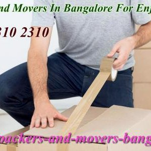 Movers And Packers Bangalore Charges